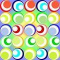 Retro circles Stock Photography