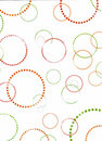 Retro circles background Royalty Free Stock Images