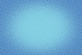 Retro Comic Blue Background Ra...