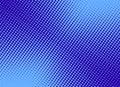 Retro comic blue background raster gradient halftone, stock vect