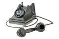 Retro dial-up rotary telephone Royalty Free Stock Photography
