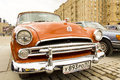 Retro dodge Royaltyfria Bilder