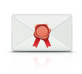 Retro envelope Royalty Free Stock Photography