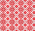 Retro fabric ornament Royalty Free Stock Image