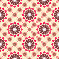 Retro Floral Pattern SEAMLESS Stock Image