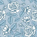 Retro flower seamless pattern Stock Images