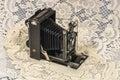 Retro Folding camera