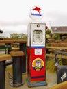 Retro Gas Pump Royalty Free Stock Photo