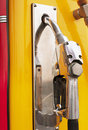 Retro gas station pump Royalty Free Stock Photo