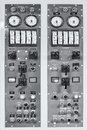 Retro generator control panel Royalty Free Stock Photo
