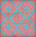 Retro geometric seamless pattern squares Stock Image