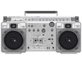 Retro ghettoblaster Royalty Free Stock Image