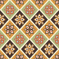 Retro graphic seamless patterns Royalty Free Stock Photography