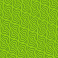 Retro Green Spiral Background Royalty Free Stock Image