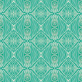 Retro grunge pattern, fifties textile design Stock Photos