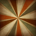 Retro grungy abstract background with rays. Royalty Free Stock Photo
