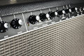 Retro guitar amplifier Royalty Free Stock Photos