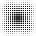 Retro halftone circle pattern background from dots Royalty Free Stock Photo