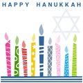 Retro Happy Hanukkah Card [1]