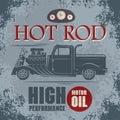 Retro Hot Rod poster