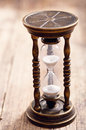Retro hourglass Royalty Free Stock Photo