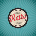 Retro icons different on vintage background Royalty Free Stock Image