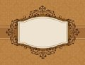 Retro invitation background Royalty Free Stock Photo