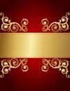Retro invitation background Stock Images