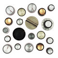 Retro knobs Royalty Free Stock Photography