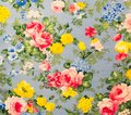 Retro Lace Floral Seamless Pattern  Fabric Background Royalty Free Stock Photo
