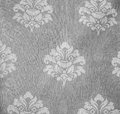 Retro Lace Floral Seamless Pattern Monotone Fabric Background Vintage Style Royalty Free Stock Photo