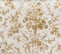 Retro Lace Floral Seamless Pattern Sepia Brown Fabric Background Vintage Style Royalty Free Stock Photo