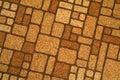 Retro Linoleum tile floor Royalty Free Stock Photo