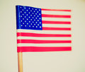 Retro look american flag vintage looking the national of the united states of america usa selective focus Stock Photo