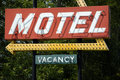 Retro Motel Sign Stock Photos
