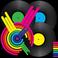 Retro Music Background Royalty Free Stock Images