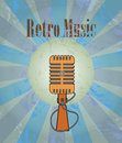 Retro music is the best music Royalty Free Stock Images