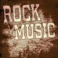 Retro music poster Royalty Free Stock Photo