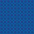Retro navy blue pattern eps seamless Royalty Free Stock Image