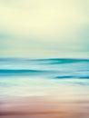 Retro Ocean Waves Royalty Free Stock Photo
