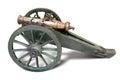Retro old artillery gun Royalty Free Stock Photo