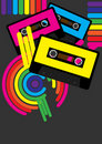 Retro Party Background Royalty Free Stock Images