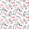 Retro party 20s pattern seamless