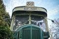 Retro passenger bus 1 Royalty Free Stock Photo