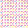 Retro pastel background