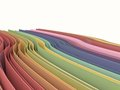 Retro pastel colored papers. Royalty Free Stock Photos