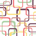 Retro pattern background with squares Royalty Free Stock Photo