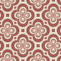 Retro pattern with circles Royalty Free Stock Image