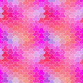 Retro pattern of geometric shapes seamless colorful mosaic backdrop Royalty Free Stock Images
