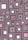 Retro pink squares Stock Images